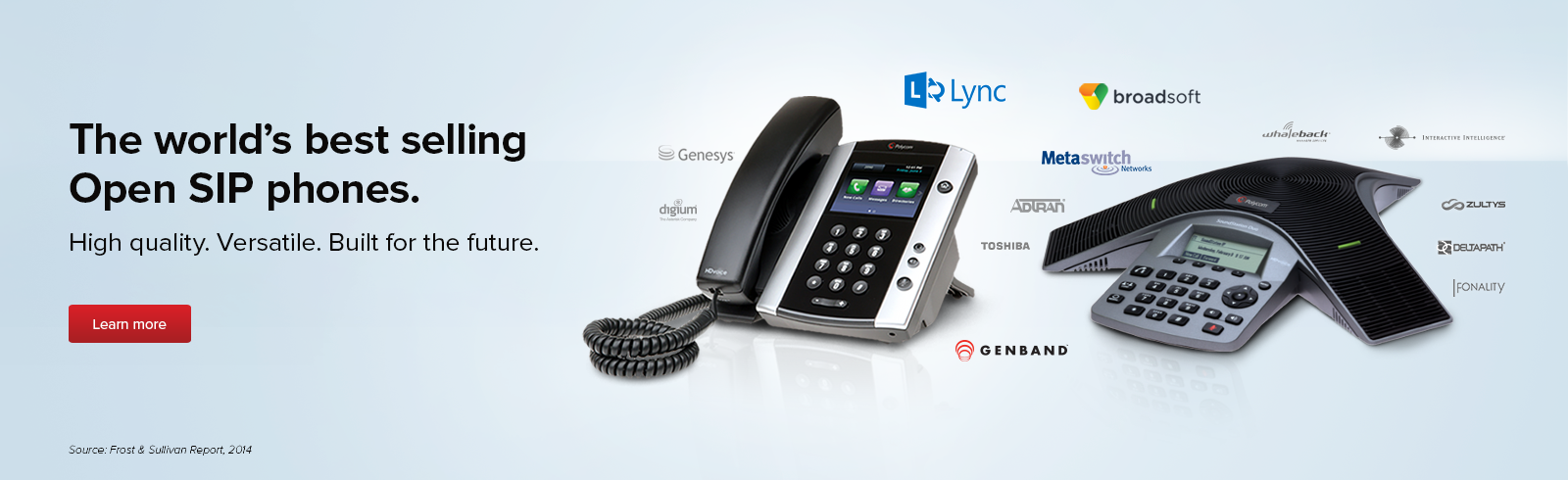 The world's best selling Open SIP phones